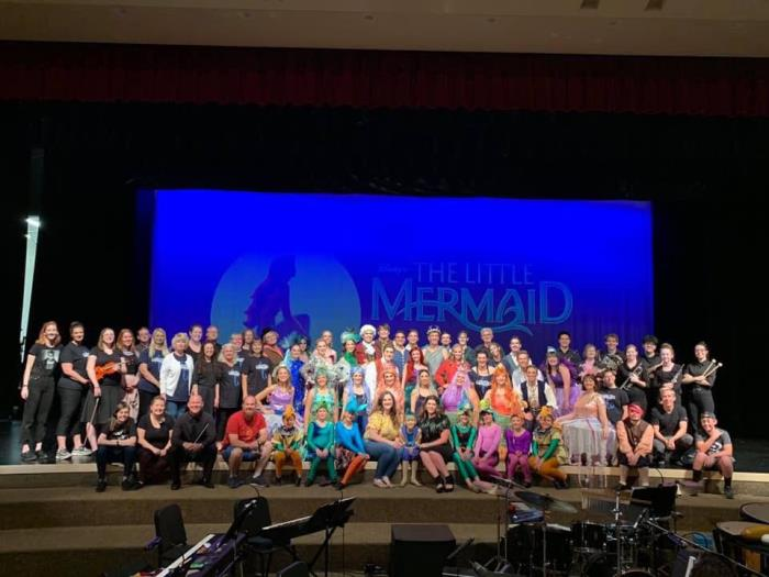 Little Mermaid Cast photo